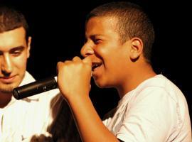 Zingende jongeren